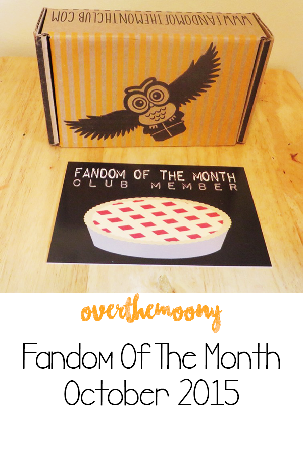 fandom of the month unboxing