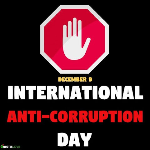 (Latest) International Anti-Corruption Day 2020 Images, Poster, Pictures, Photos, Wallpaper