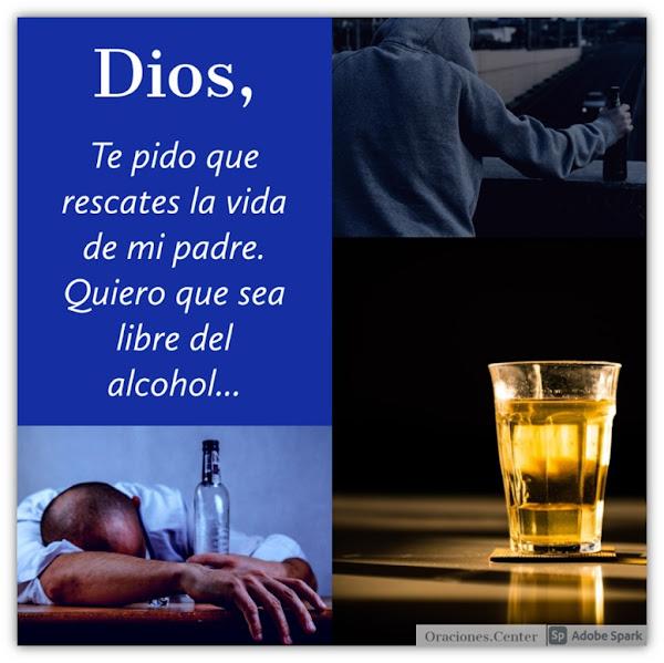 Oración por un Padre Alcohólico