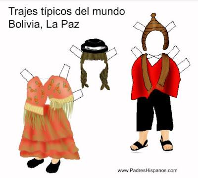 típico de La Paz, Bolivia