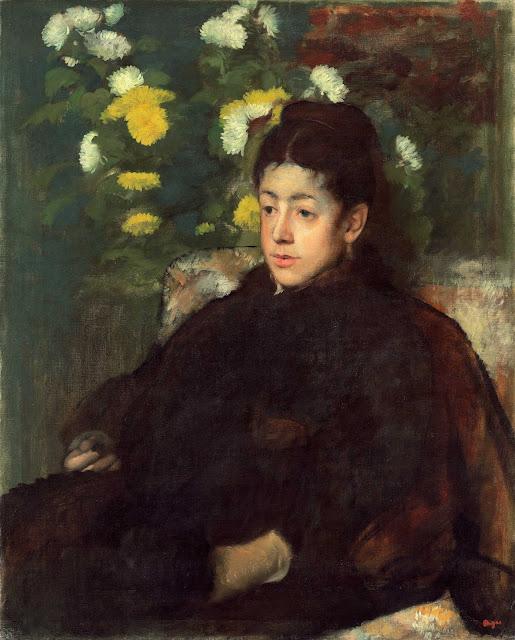Эдгар Дега - Мадмуазель Мало (1877) 2