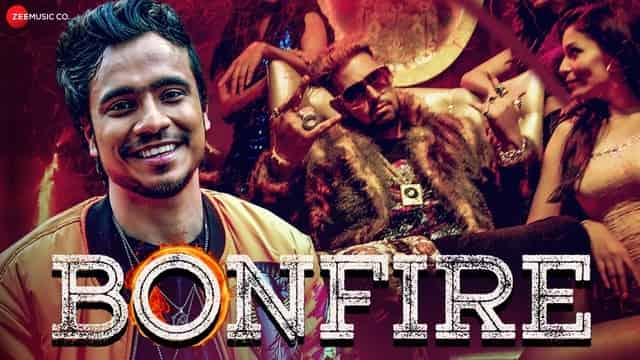बॉनफायर Bonfire Lyrics In Hindi - Kabir Malik
