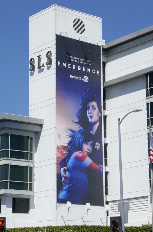 Emergence series launch billboard