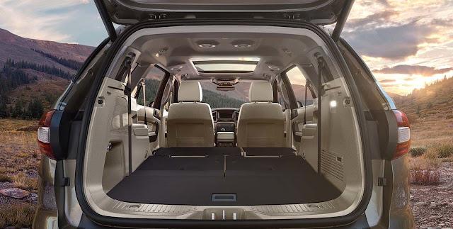 फोर्ड एंडेवर कार rear door, फोर्ड एंडेवर कार seats