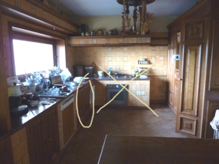 My New Old Life: Country Kitchen - il lavello