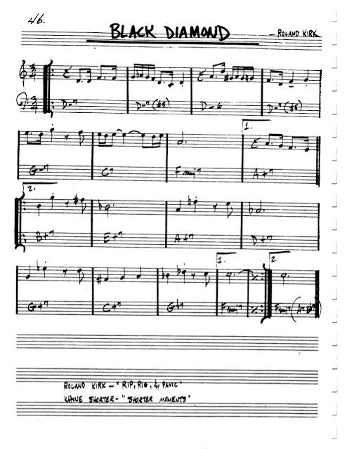 Partitura Violín Roland Kirk