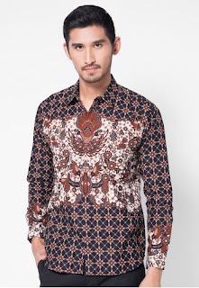 Baju Batik Lengan Panjang