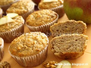 Jablkové muffiny - recepty