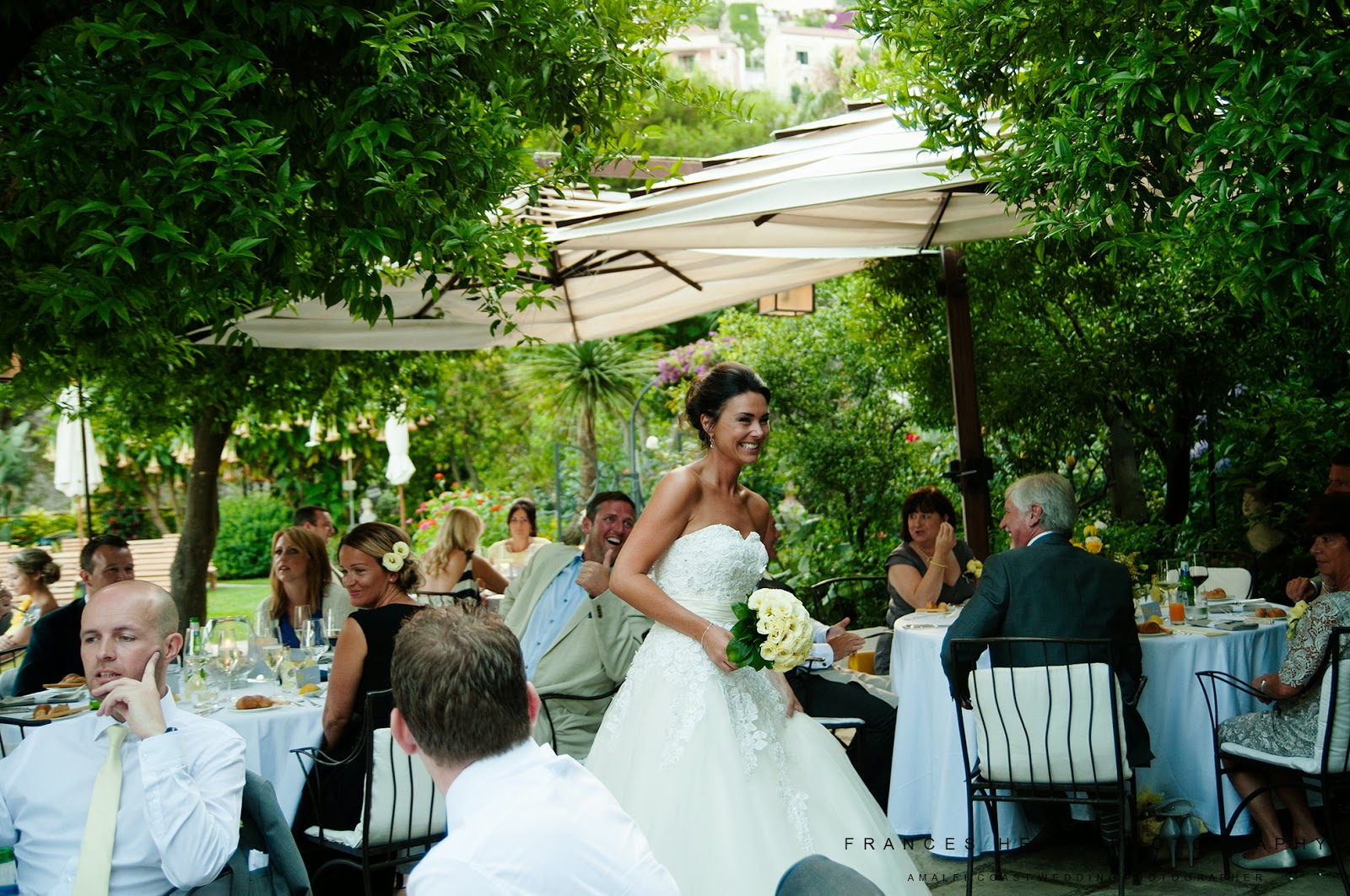Wedding reception at Palazzo Murat