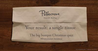 Risultati quiz Natale: un unico fazzoletto di carta da parte dei Weasley