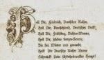 Heil dir, Friedrich, Deutscher Kaiser - Gedicht