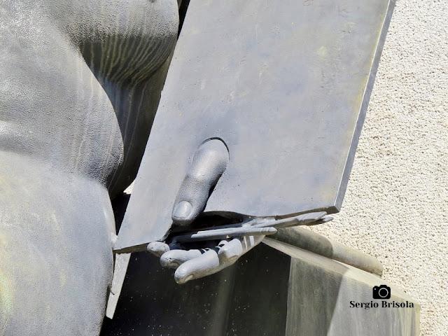 Musa da Pintura - Monumento a Ramos de Azevedo (detalhes)