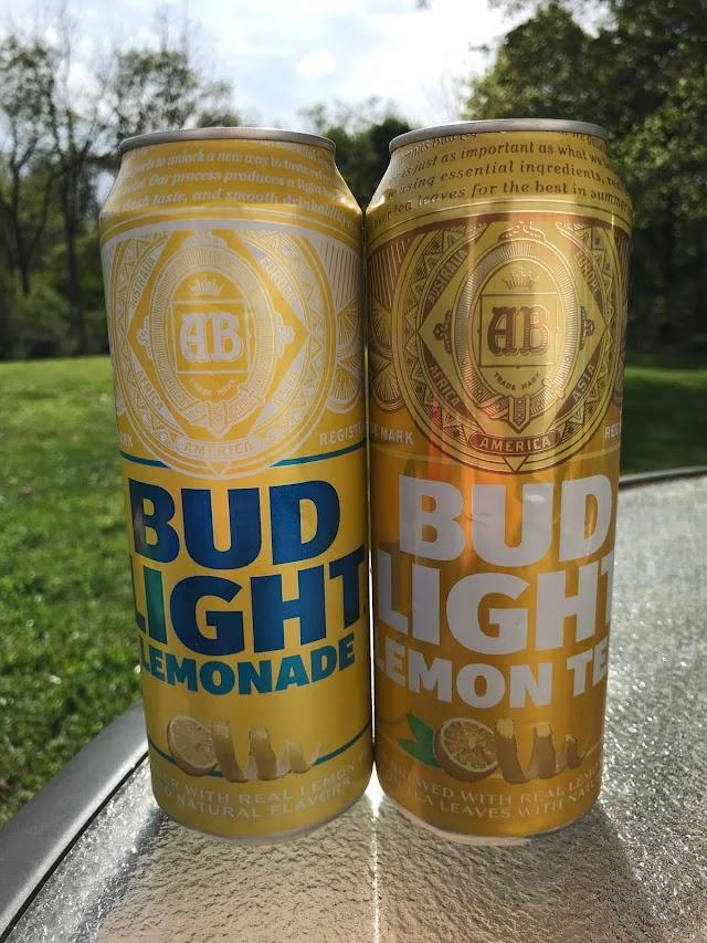 To Drink or Not to Drink? - Bud Light Lemonade & Bud Light Lemon Tea