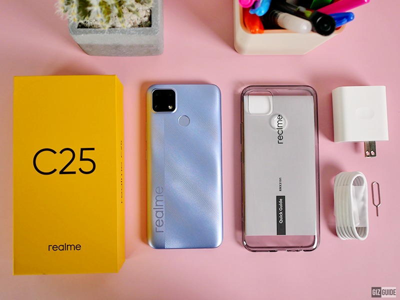 Watch: realme C25 Unboxing, First Impressions, Camera Samples