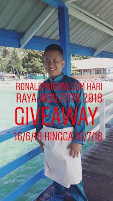 Ronaldmohoni.com Hari Raya Aidilfitri 2018 Giveaway