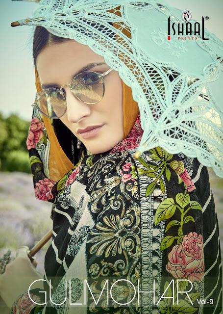 Ishaal Print Gulmohar vol 9 Lawn Suits catalog
