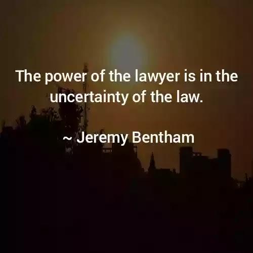 Quotes of Jeremy Bentham