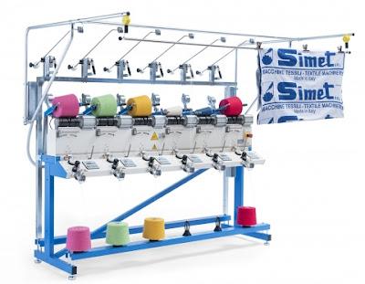 Итальянские мотальные машины для пряжи SIMET SED
