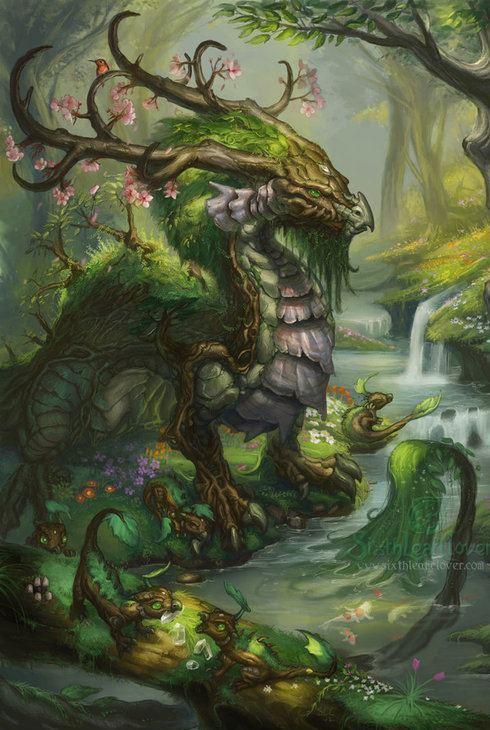 Earth Dragon: Nordic Wiccan: Dragon