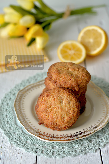 crispy lemon butter cookies