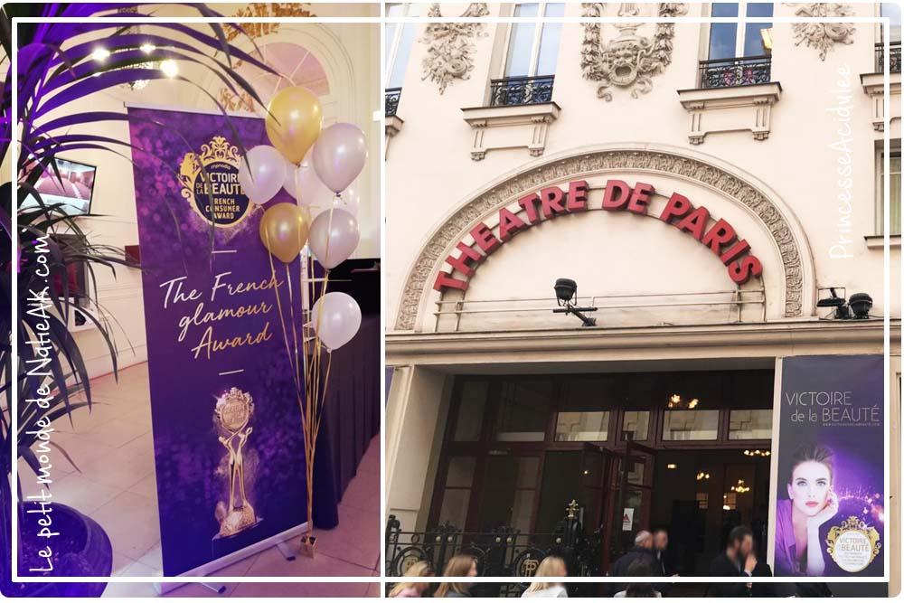 Théâtre de Paris : cérémonie des victoires de la beauté