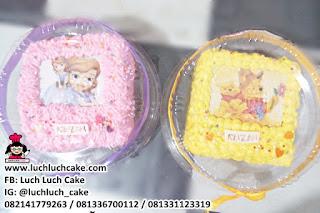 Mini Cake Sofia The First dan Winnie The Pooh