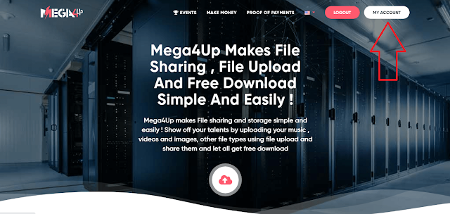 الربح من رفع الملفات | شرح كامل لموقع mega4up افضل موقع للربح من رفع الملفات