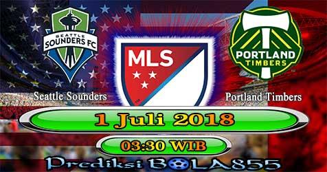 Prediksi Bola855 Seattle Sounders vs Portland Timbers 1 Juli 2018