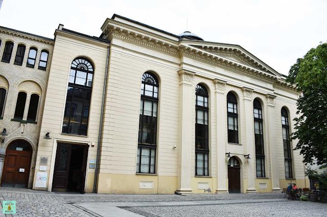 Sinagoga de la Cigüeña Blanca, Wroclaw