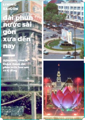 Sài Gòn có đài phun nước 23 tỉ đồng