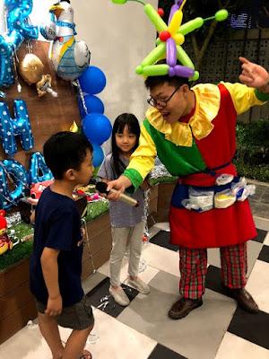 Thuê chú hề hoạt náo sinh nhật tại nhà Hà Nội