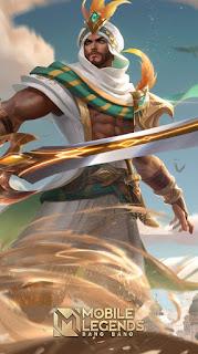 Khaleed Desert Scimitar Heroes Fighter of Skins
