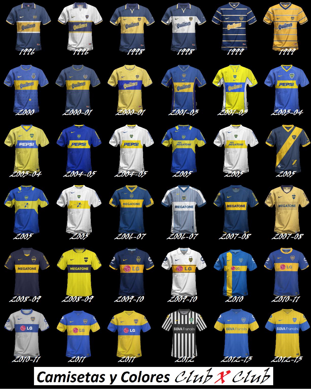 ce8ba584eb Camisetas y Colores Club x Club: noviembre 2013