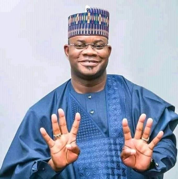 2023: Yahaya Bello's Presidential Posters Flood Abuja