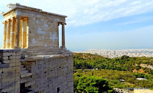 Templo de Atena Niké na Acrópole de Atenas