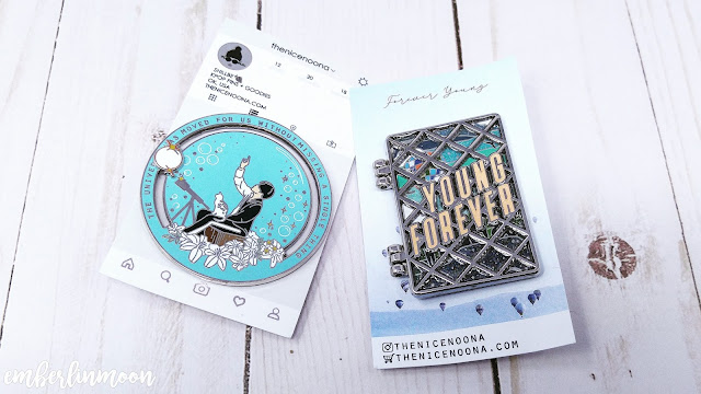The Nice Noona Pins | BTS Pin (Mini) Haul