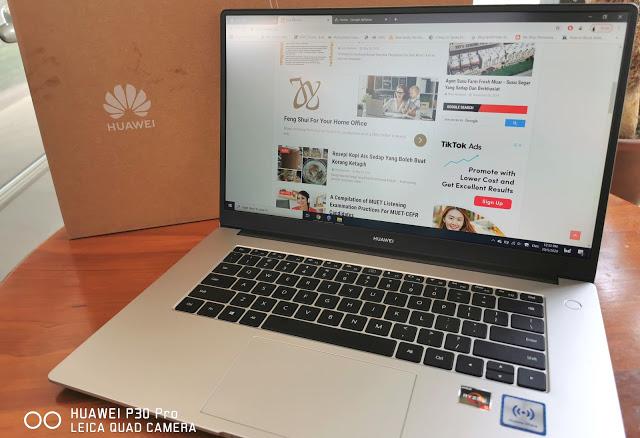 Beli Huawei Matebook D15 Dengan Harga Murah Di Lazada