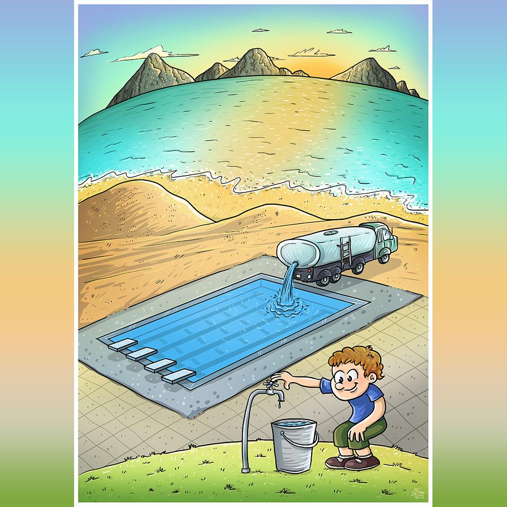 Encomenda de ilustração para capa de livro