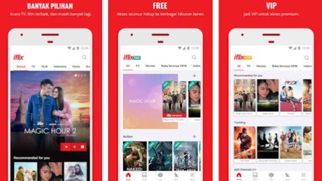 Iflix nonton film gratis dan premium