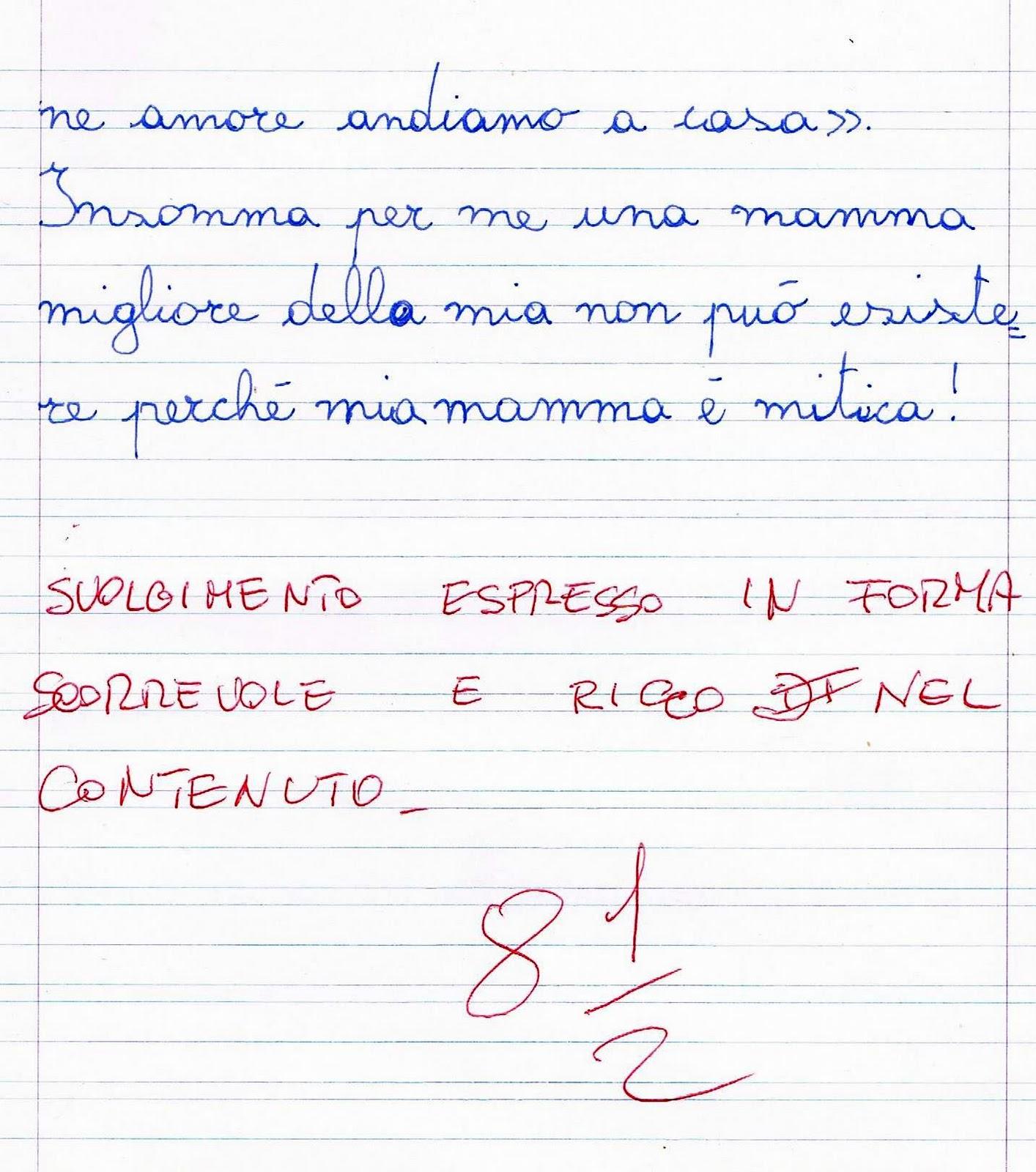 Popolare Verifica di italiano per la classe terza - La descrizione della  CH43