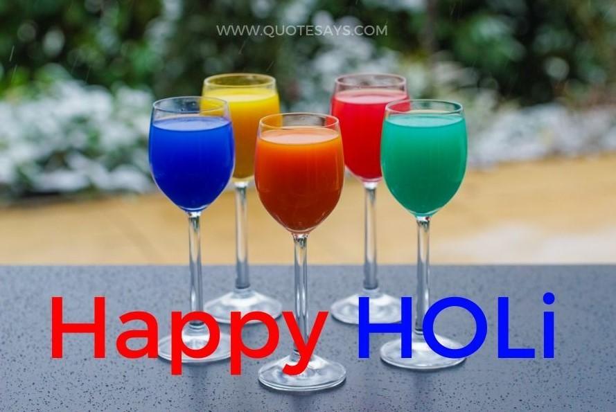 Happy Holi bhang photo