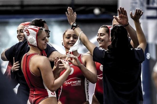 Πόλο: Μεγάλη επιτυχία, στο Final-4 οι γυναίκες του Ολυμπιακού