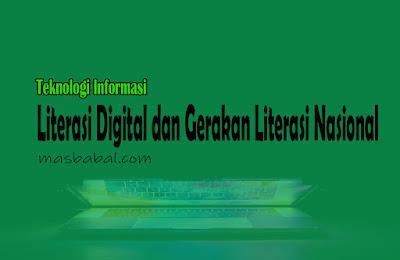 Literasi Digital dan Gerakan Literasi Nasional