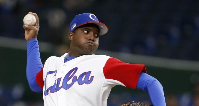 Cuba blanquea a China 6-0 en el Clásico Mundial de Béisbol