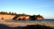 The Caves at St. Martins on the Bay of Fundy, New Brunswick and other views near our home