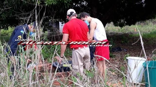 Rolim de Moura – URGENTE – Após denúncia de mau cheiro, corpo é encontrado dentro de poço no Bairro Olímpico