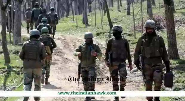 Army Jawans Rushing to the encounter site in Kulgam J&K