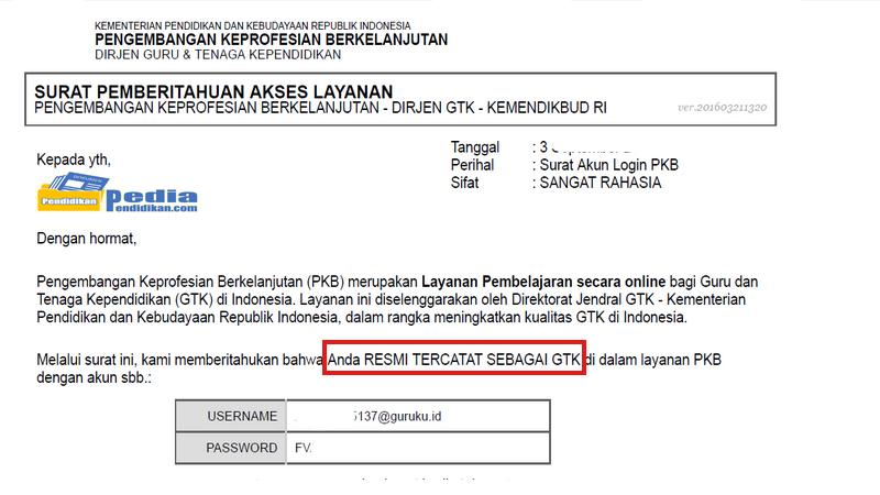 Panduan Registrasi Akun SIMPKB