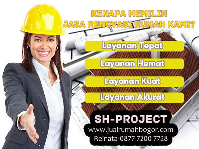 Kenapa Memilih Jasa Renovasi Rumah Kami Di Bogor