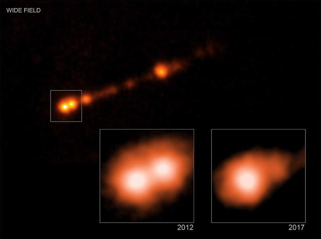 Famous black hole has jet pushing cosmic speed limit